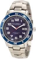 Haurex Italy Men's Premiere Stainless-Steel Dial Date Watch 7A355UBB