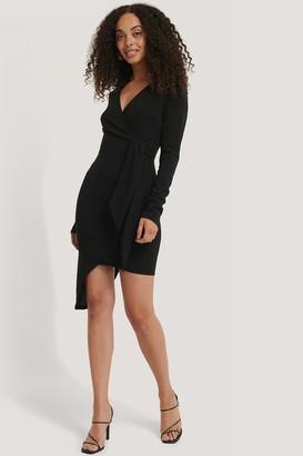 NA-KD Asymmetric Hem Mini Dress