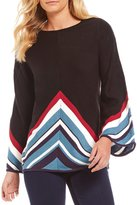 Westbound Petites Bell Sleeve Sweater