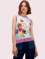 Kate Spade Rare Roses Sweater Vest