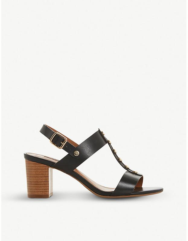 16d6bce2f67a Dune Gold Strap Sandals - ShopStyle UK