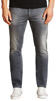 Denham Razor Wgs Stretch Slim Jeans, Mid Grey