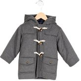 Jacadi Boys' Wool Hooded Coat