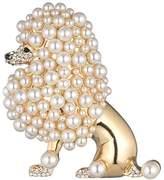 Carolee Poodle Pin