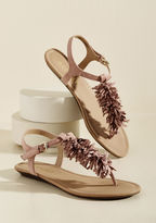 ModCloth Phone a Fringe Sandal in 6