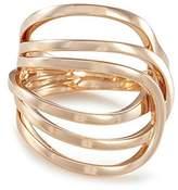 Repossi 'La Ligne C' 18k rose gold ring