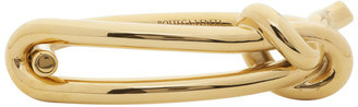 Bottega Veneta Gold Knot Bracelet