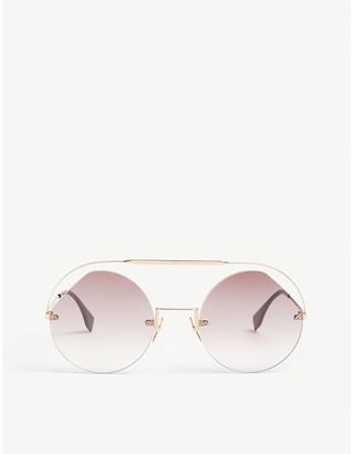 Fendi FF0325/s round-frame sunglasses