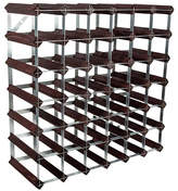 RtA 42 Bottle Dark Pine Wine Rack Kit