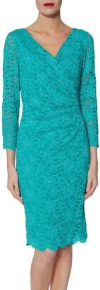 Gina Bacconi June Floral Lace Dress