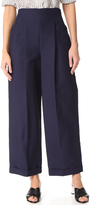 Salvatore Ferragamo High Waisted Pants