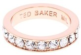 Ted Baker Women's 'Claudii' Crystal Band Ring