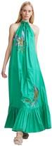 Cynthia Rowley Jade Halter Maxi Dress