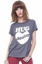 Local Celebrity Hug Dealer Schiffer Tee in Charcoal