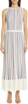 Missoni Multicolor Stripe Rib Maxi Dress