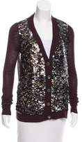 Adam Embellished Cashmere Cardigan w/ Tags