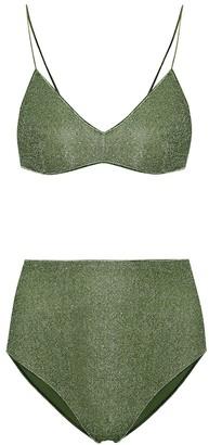 Oseree Lumiere high-rise bikini