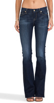 7 For All Mankind Slim Illusion Boot Cut w/ Embellished Pockets