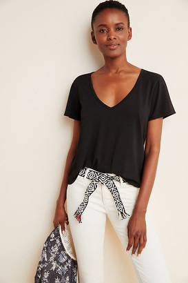 Ana Cropped Boxy Tee By T.La in Assorted Size XS