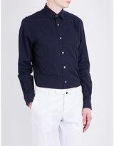 Paul Smith Floral-jacquard slim-fit cotton shirt