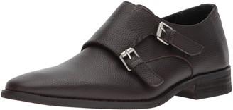 Calvin Klein Men's Robbie Tumbled Leather Monk-Strap Loafer