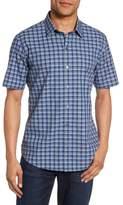 Zachary Prell Check Short Sleeve Sport Shirt