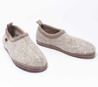 Haflinger Boiled Wool Slippers - Freddie