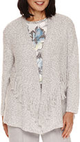 Alfred Dunner Northern Lights Long Sleeve Cardigan
