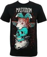 Global Mastodon Men's Logo Totem Slim-Fit T-Shirt L