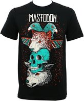 Global Mastodon Men's Logo Totem Slim-Fit T-Shirt M