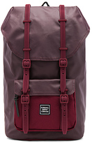 Herschel Studio Little America Backpack in Burgundy.