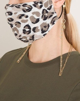 Chico's Convertible Faux-Pearl Mask Necklace