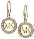 michael kors logo drop earrings earring
