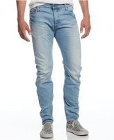 G Star Men's Arc Slim-Fit Washed-Out Jeans