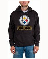 Junk Food Clothing Men's Pittsburgh Steelers Wing-T Formation Hoodie