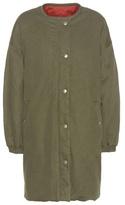 Etoile Isabel Marant Isabel Marant, Étoile Casey Reversible Cotton-blend Coat