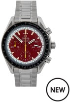 OMEGA Omega Pre-Owned Gents Steel Speedmaster Reduced Schumacher Edition Watch, White/Red Dial. Ref: 175.0032
