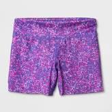 Champion Girls' Printed Performance Yoga Shorts