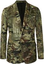 Givenchy camouflage print blazer - men - Polyamide/Polyester/Viscose - 48