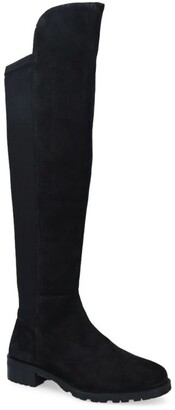 Carvela Suede Vanessa 2 Knee-High Boots 35
