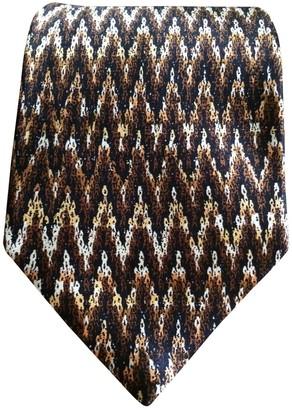 Missoni Brown Silk Ties