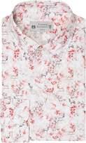 Turner & Sanderson Herbatus Italian Fabric Deer Floral Print Shirt