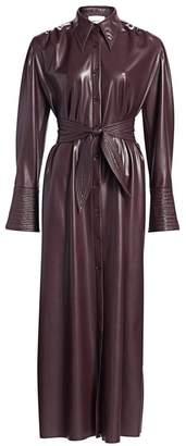 Nanushka Rosana Vegan Leather Dress