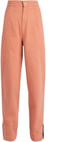Isabel Marant Elwood high-rise denim peg-leg trousers