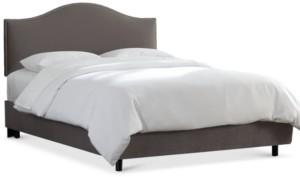Skyline Jameson Nail Button Bed - Queen