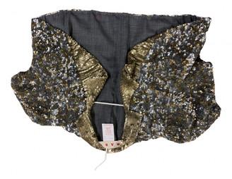 Marni Gold Glitter Jackets