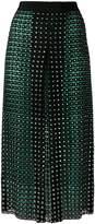 Marco De Vincenzo crystal embellished lace skirt