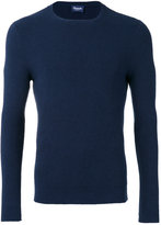 Drumohr crew neck top - men - Cotton/Silk/Cashmere - 48