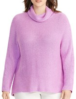 Lauren Ralph Lauren Plus Dolman Funnel Neck Sweater