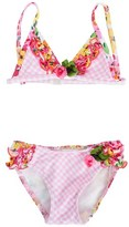Pate De Sable Multi-Print Triangle Bikini